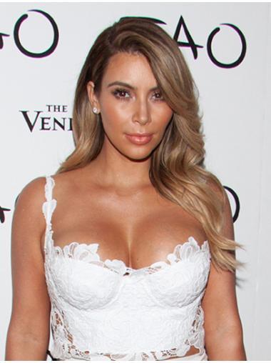 """18"""" Blonde Wavy Flexibility Kim Kardashian Wigs"""