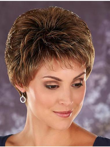 Boycuts Wavy Cropped Discount Wigs