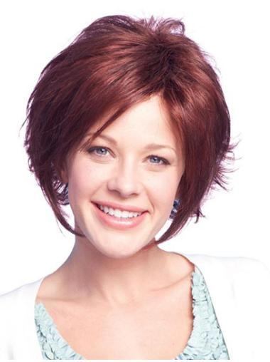 Wigs For Women Straight Auburn Bobs