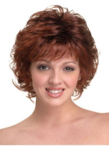 Buy Curly Synthetic Layered Wig