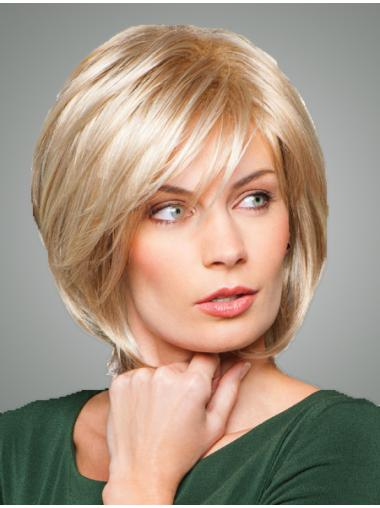 "10"" Blonde Hairstyles Bob Wigs"