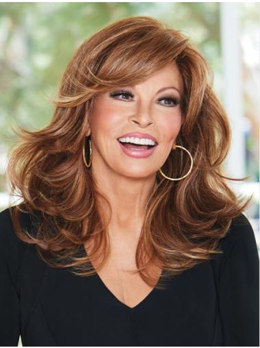 """16"""" Long Wavy Discount Wigs For Cancer"""