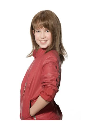 """12"""" Brown 100% Hand-tied Great Kids Wigs"""