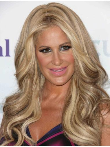 "Without Bangs Capless Lace Front 18"" Top Kim Zolciak Wigs"