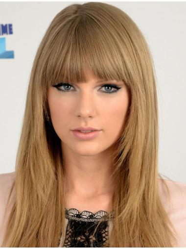 "Straight Synthetic Sleek 18"" Taylor Swift Wigs"