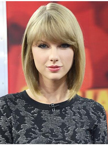 """Straight Synthetic High Quality 12"""" Taylor Swift Wigs"""