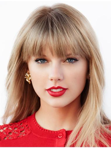 """Straight Synthetic Soft 18"""" Taylor Swift Wigs"""