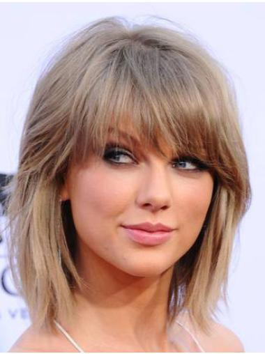 """Straight Synthetic Durable 12"""" Taylor Swift Wigs"""