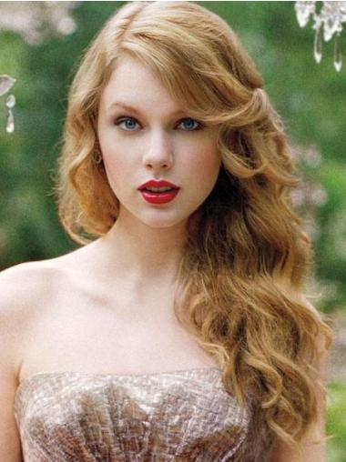 """Wavy Remy Human Hair Exquisite 20"""" Taylor Swift Wigs"""