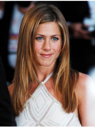 "20"" Without Bangs Lace Front Jennifer Aniston Wigs"