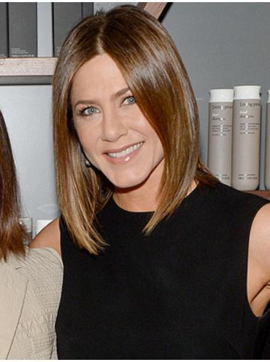 "12"" 100% Hand-tied Jennifer Aniston Wigs"