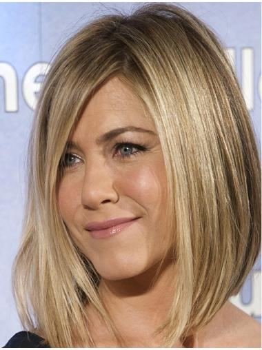 """12"""" With Bangs Lace Front Jennifer Aniston Wigs"""