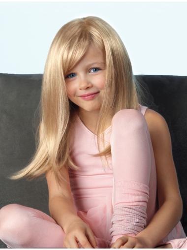 "Fashion Blonde 18"" Kids Wigs"