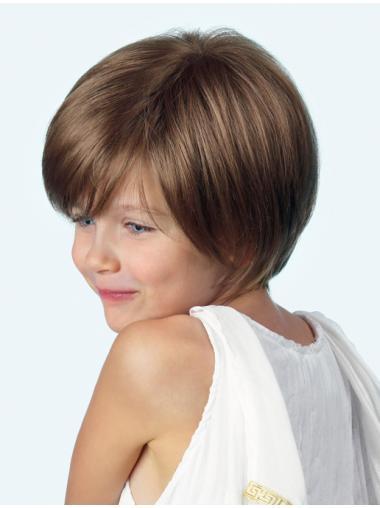 "Popular Brown 10"" Kids Wigs"
