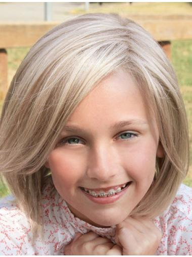"Natural Blonde 12"" Kids Wigs"
