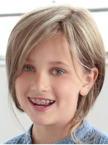 """Affordable Blonde 12"""" Kids Wigs"""