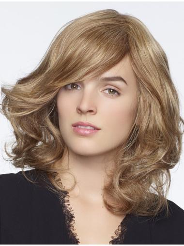 """New Curly 14"""" Blonde 100% Hand-tied Wigs"""