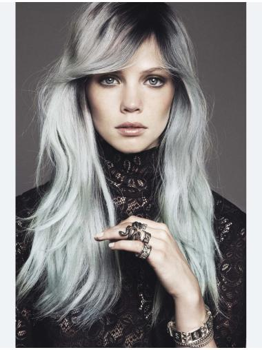 """Straight Hairstyles 20"""" Grey Wigs"""