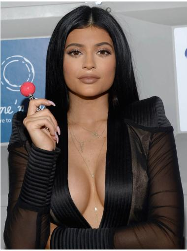 """Without Bangs Straight 16"""" Top Kylie Jenner Wigs"""