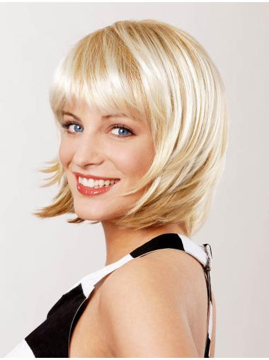 Blonde Lace Front Convenient Medium Wigs