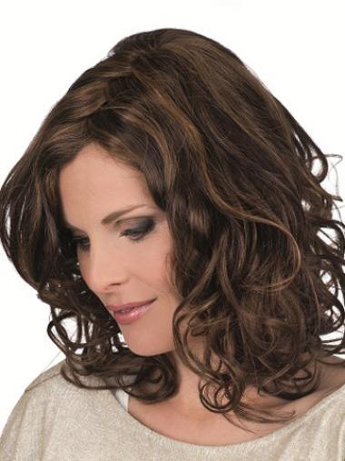 Medium Brown Remy Human Hair Wigs