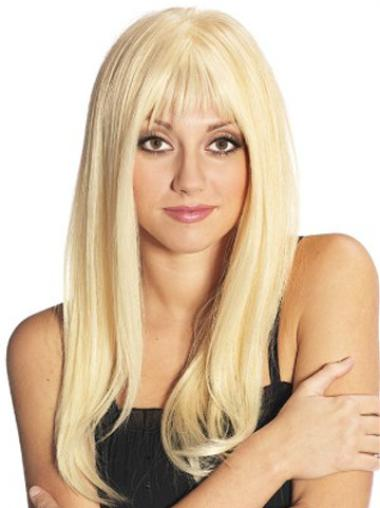 Remy Hair Wigs with Bangs