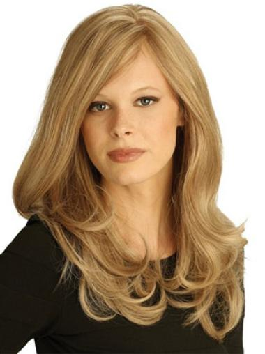 Long Blonde Hand-tied Remy Human Hair Wigs