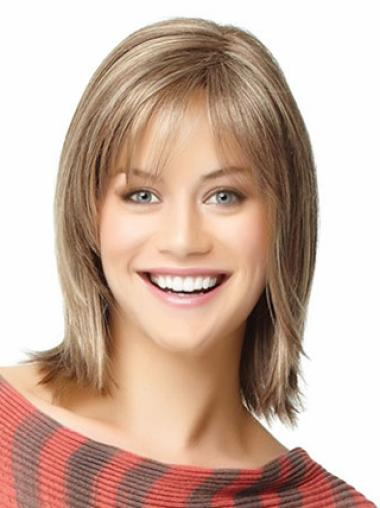 Shoulder Length Human Hair Wigs