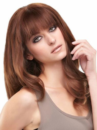 Long Straight Lace Front Human Hair Wigs