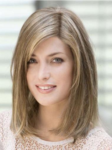 Straight Monofilament Human Hair Wigs