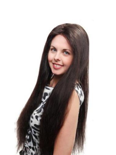 Human Hair Wigs Long