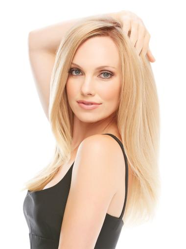 Straight Long Monofilament Remy Human Hair Wigs