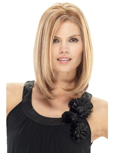 Blonde Straight Lace Front Remy Human Hair Wig
