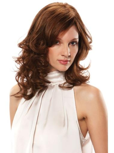 Medium Monofilament Remy Human Hair Wigs