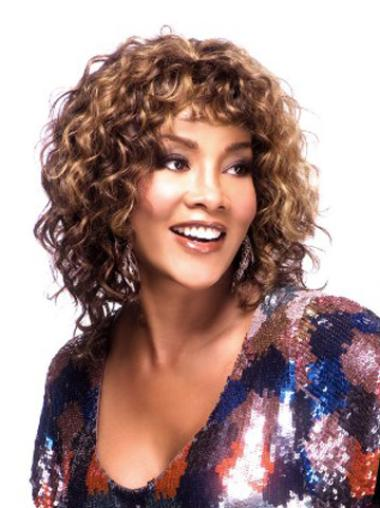 Curly Wigs for African Americans
