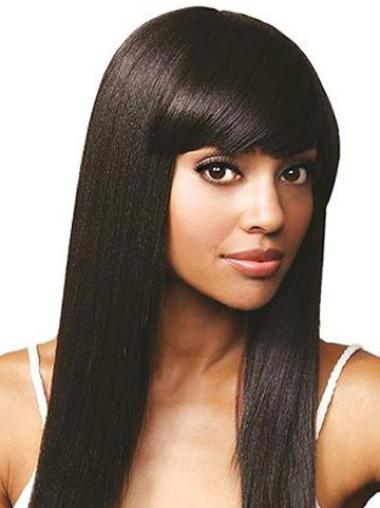 Fashion Indian Remy Hair African American Wigs