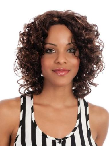 Curly Synthetic African American Wigs