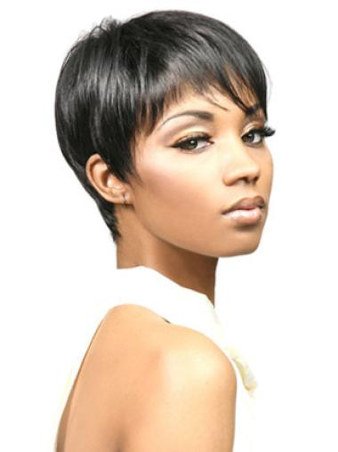 Cheap Straight Synthetic African American Wigs