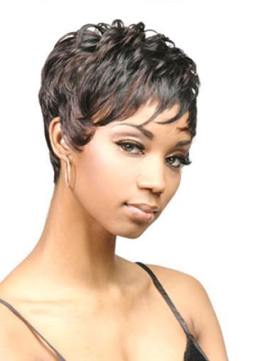 Short Synthetic African American Wigs
