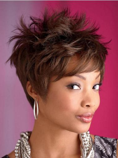 Cropped African American Wigs