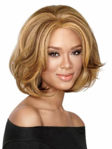 Wavy Synthetic African American Wigs