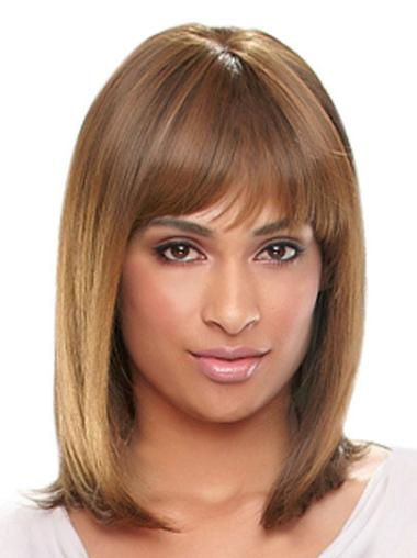 Wigs with Bangs for Black Women