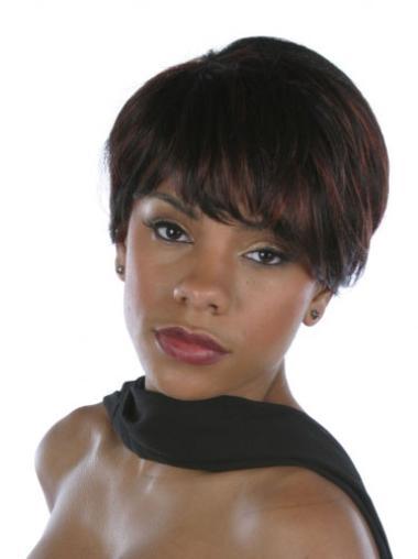 Short Human Hair Wigs Black Women