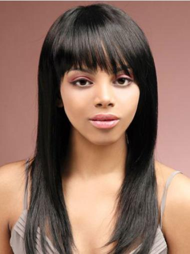 Human Hair Half Wigs for African Americans
