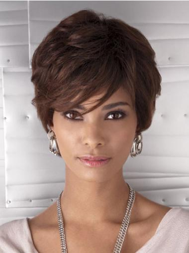 Cheap Wavy Synthetic African American Wigs