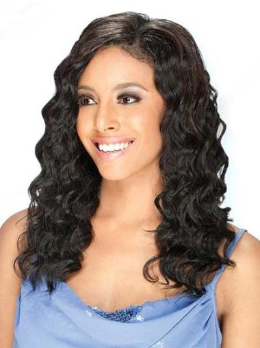 Lace Front Brazilian Remy Hair African American Wigs