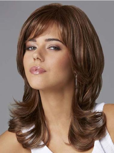 Modern Wavy Lace Front Synthetic African American Wigs