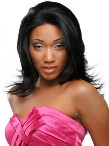 Long Lace Front Synthetic African American Wigs