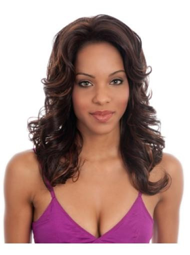 Designed Lace Front Synthetic Wigs for Black Women
