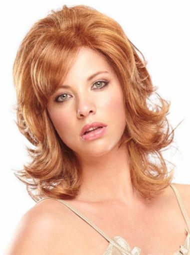 Shoulder Length Synthetic Wigs